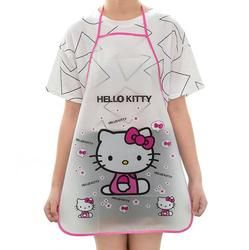 Cartoon Cute Waterproof Cooking Resturant Kitchen Women hello Apron cocina tablier cuisine Kitty rabbit Kids funny bib Baking