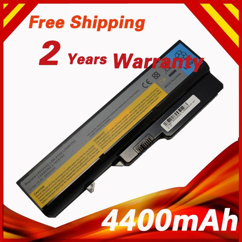 <font><b>4400mAh</b></font> 6 Cells Battery G460 For Lenovo G470 V470 L09C6Y02 L09L6Y02 L09M6Y02 L09N6Y02 L09S6Y02 LO9L6Y02 LO9S6Y02 B570E