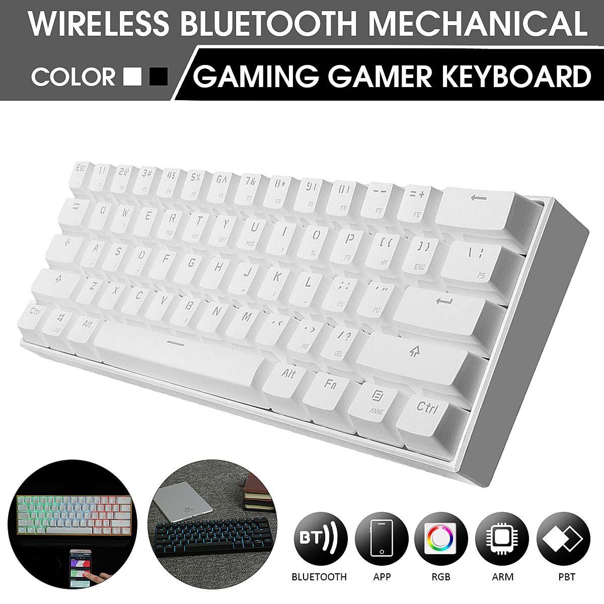 Wireless Bluetooth Mechanical Gaming Gamer Keyboard Anne PRO Brown Switch RGB Mechanical Keyboard RGB Anti-Ghosting for Computer