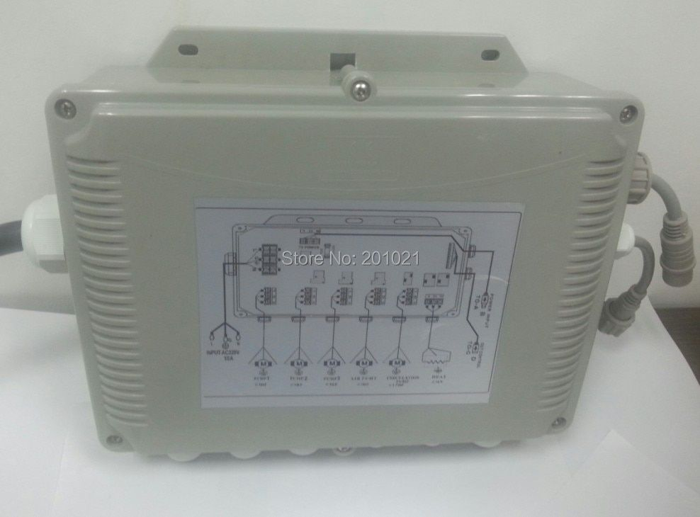 GD7005 main control box that the main power goes into