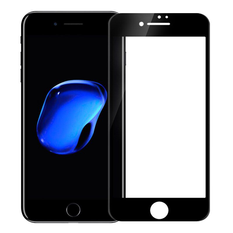 2.5D ARC 0,23mm vollständig abdecken CP + Anti-Explosion Hartglas Displayschutz Nillkin Für iphone 7 plus gehärtetem (5,5 zoll)