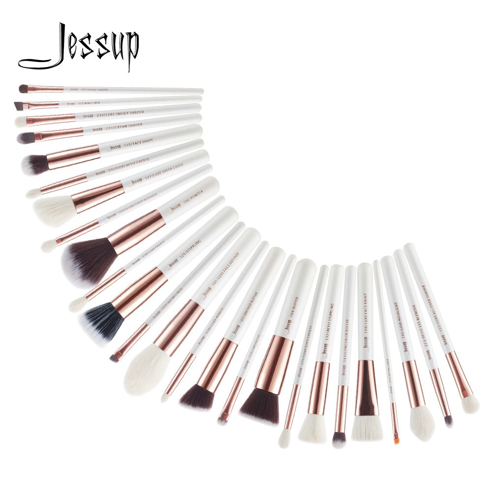 Jessup Beauty 25pcs Makeup Brushes Set Dropshipping pincel maquiagem Eyeshadow Foundation Definer Pencil Brushes Cosmetics T215