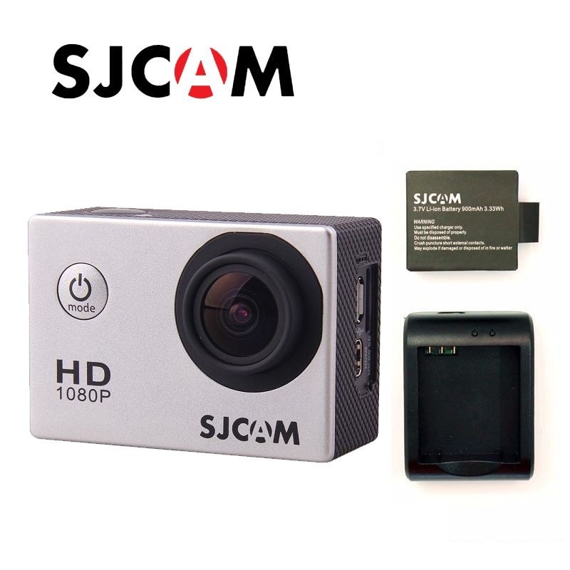 Free shipping!!Original SJCAM SJ4000 Full HD 1080P Diving 30M Waterproof Action Camera Sport DVR connector set