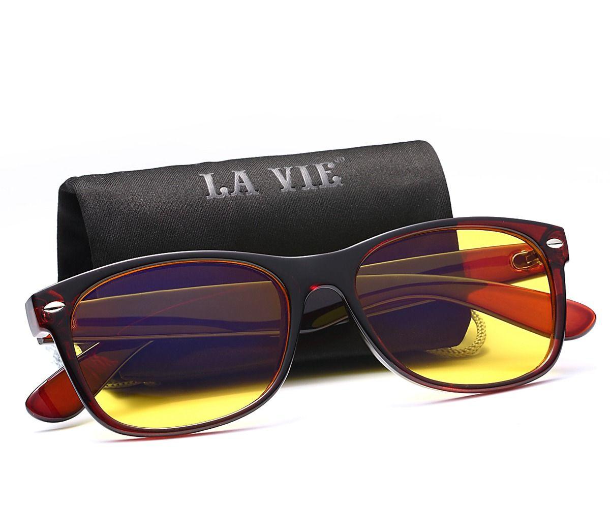 LA VIE Computer Eyewear glasses Anti Blue Rays Computer Goggles Reading Glasses 100% Radiation-resistant Computer Gaming Glasses