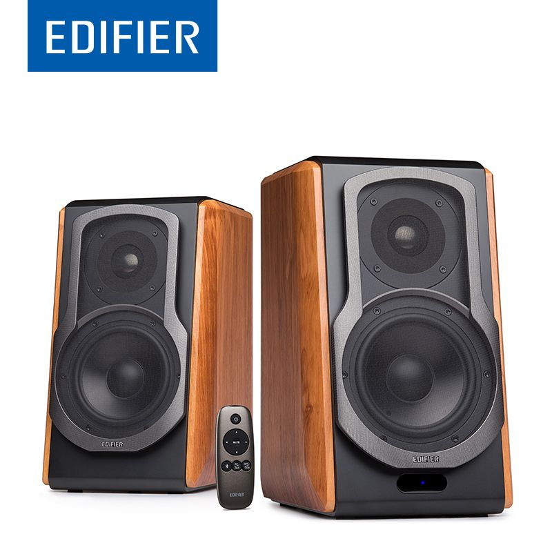 EDIFIER S1000DB HIFI Bookshelf Bluetooth Speaker Wireless Bluetooth Speaker With apt-X For Home Theatre Support Remote Control