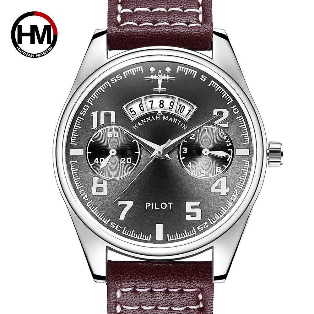 Prince Pilot Men Sports Watch Luxury Brand Bayan Kol Saati Date Business Calendar Men Erkek Saat Quartz Male Waterproof Watches