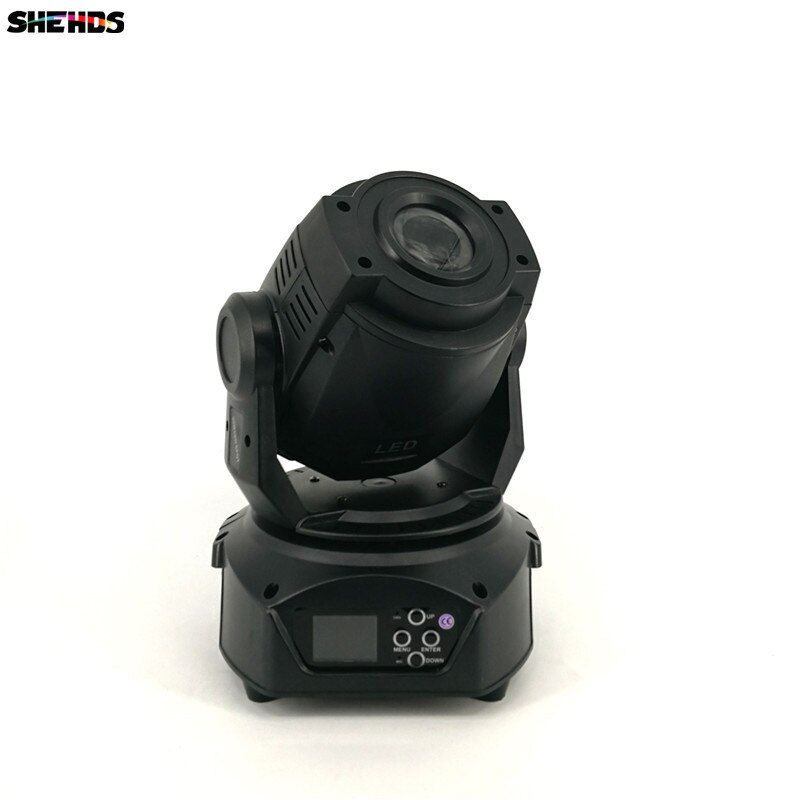 4pcs/lot LED Gobo 90W Moving Head Light/USA Luminums 90W LED DJ Spot Stage Lighting Good Effect DMX Controller DJ Night