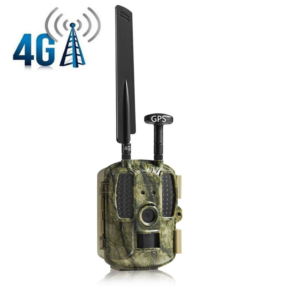 Scout Hunting Camera Chasse 4G GSM GPS GPRS MMS Photo Traps Wildlife Surveillance Hidden Camera Foto Ghost game camera caza