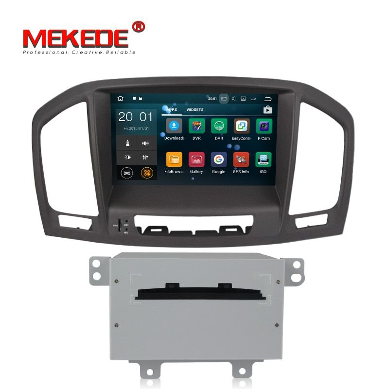 Quad core PX3 Android 7.1.1 Car DVD radio Player For Opel Vauxhall Insignia CD300 CD400 2009-2013 1.6Ghz 2G RAM 16G ROM WIFI GPS