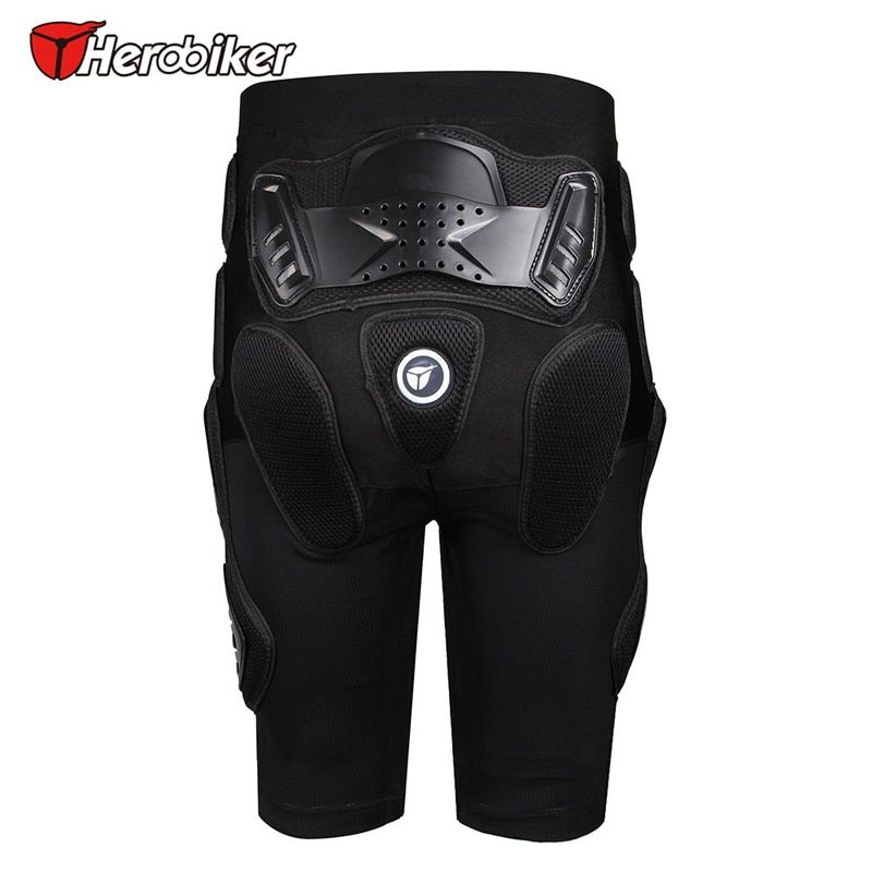 HEROBIKER Motorcycle Armor Pants Leg Ass motocross Protection Riding Racing Equipment Gear Overland motocross protector