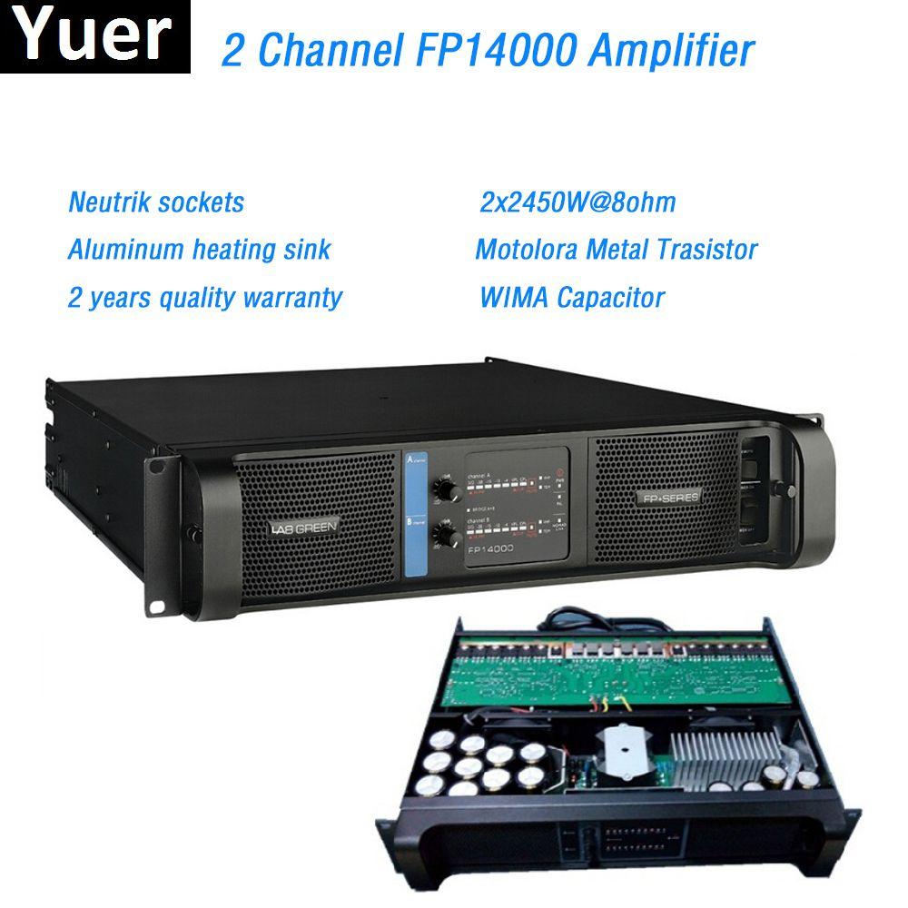2 kanal FP14000 Verstärker Linie Array Verstärker Professionelle 2x2350W @ 8ohm fp14000 linie array Sound Power Verstärker Linie