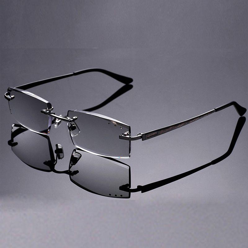 Nouveau Rrimming lunettes de lecture hommes femmes diamant cristal métal cadre lunettes de Prescription Diopter 1.5 montre Top Grade Oculos