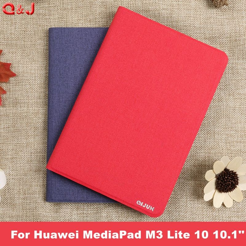 Case for Huawei MediaPad M3 Lite 10 10.1 BAH-W09 BAH-AL00 Tablet Funda PU Leather Cover Cases for Huawei M3 Lite 10 cases cover