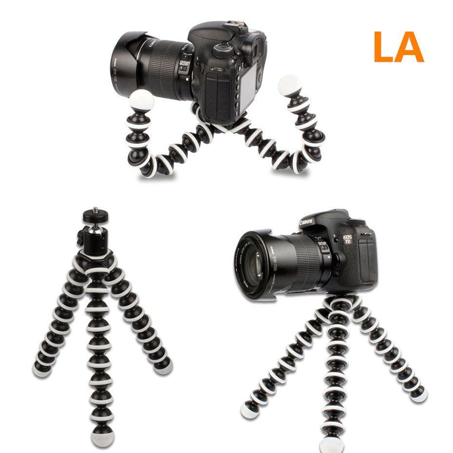 Flexible Large Octopus Tripod Stand Gorillapod for DSLR Mobile Phone Digital DV Canon Nikon  Gopro Hero 4/ 3+/ 3 sj40 Camera