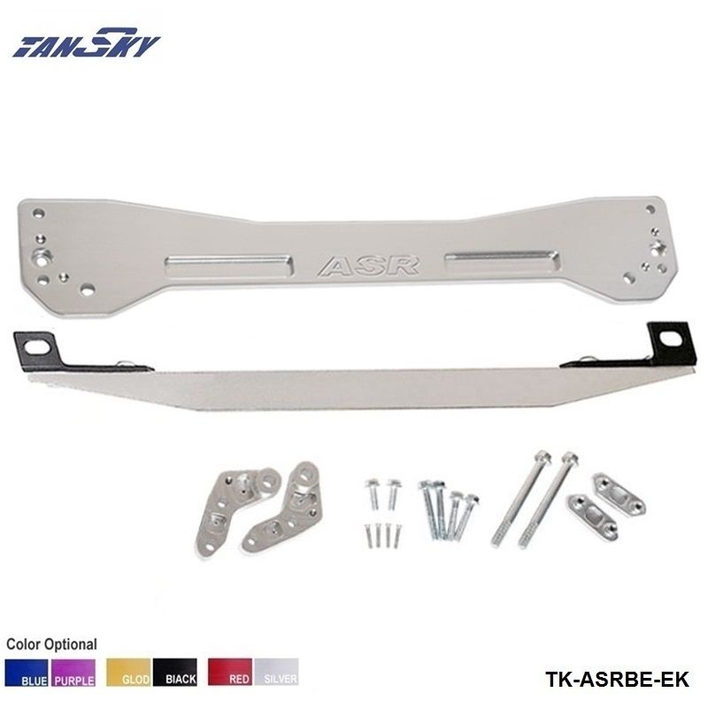 TANSKY-Rear Tie Bar Subframe Brace+Tie Bar(Fit For Honda Civic 96-00 ) TK-ASRBE-EK