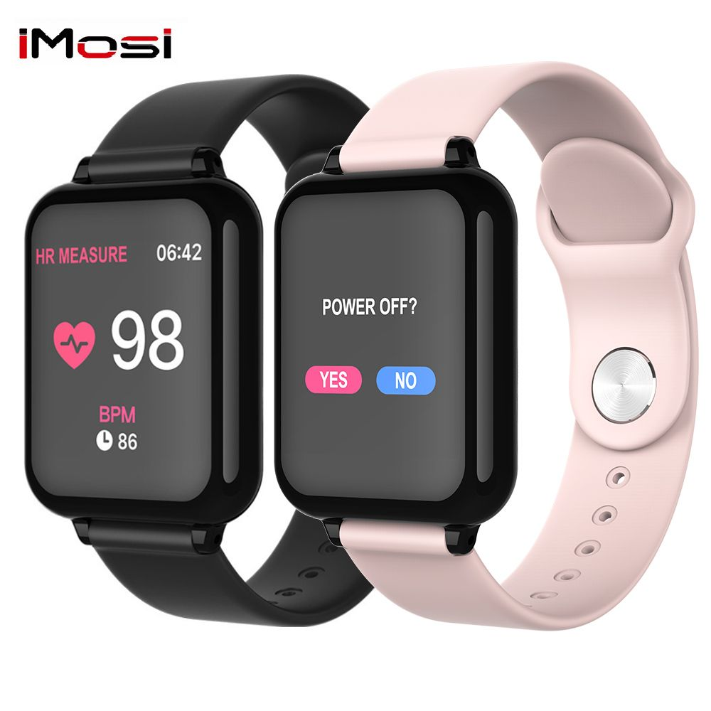 Imosi B57 Smart Bracelet Blood Pressure Fitness Tracker Heart Rate Tracker Bluetooth Smart Band Sport Wristwatch Watch