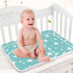 Bébé Portable Pliable Lavable matelas à langer Nourrissons mignon étanche matelas enfants jeu tapis De Sol coussin Couche Réutilisable
