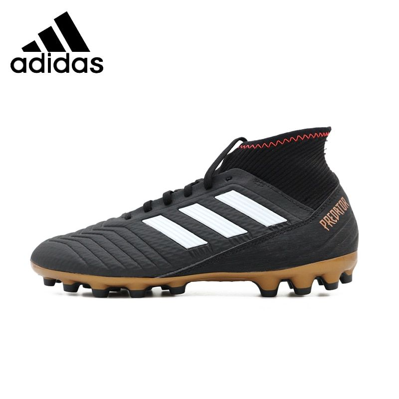 ADIDAS Predator18.3 AG New Arrival Mens Soccer Breathable Lightweight Support Sports Short Nail Sneakers For Men Shoes#CP9306