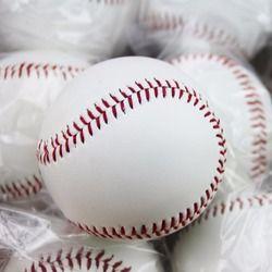 Номер 9 ручной работы Бейсбол S ПВХ верхняя Резиновая внутренняя мягкая Бейсбол Мячи Софтбол мяч обучение упражнения Бейсбол шары