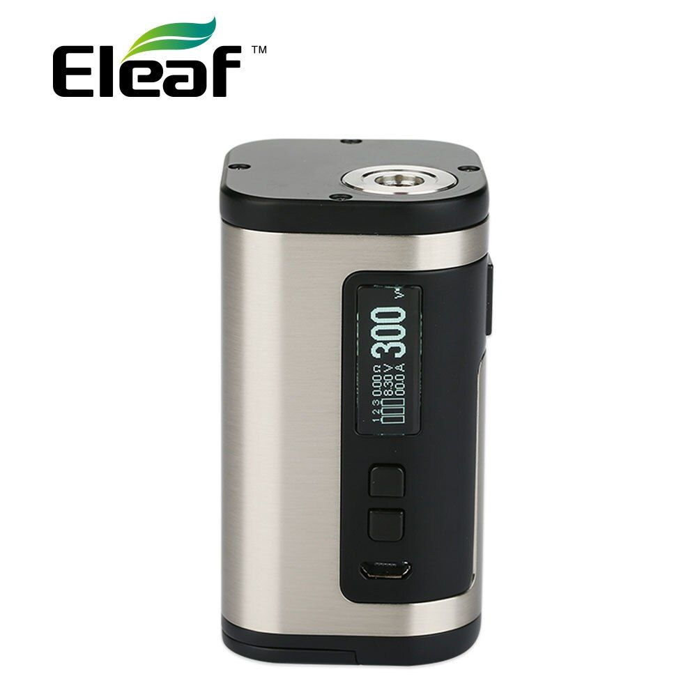 100% Original 300W <font><b>Eleaf</b></font> IStick Tria TC Box MOD 2A Quick Charging No 18650 Battery 300W E-cig Mod Fit Ello S Atomizer/Tria Kit
