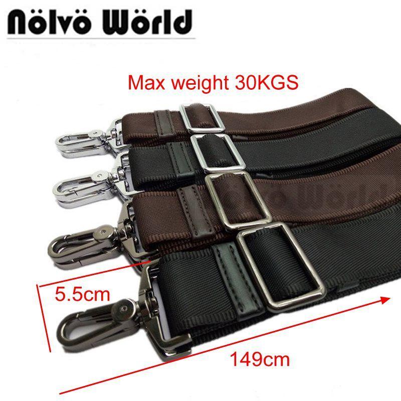 Powerful hook 31mm 38mm wide nylon belt strap,men bags long shoulder strap,man laptop bag straps,repair bag shoulder strap