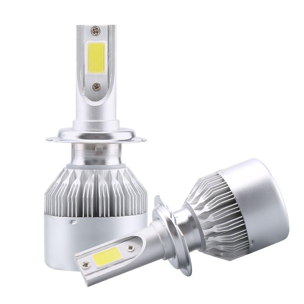 2X H7 Led H4 Car Headlights 80w <font><b>8000lm</b></font> Car Led Light Bulbs H1 H8 H9 H11 Automobiles Headlamp 6000K led 12v Fog Lamps C6 Led