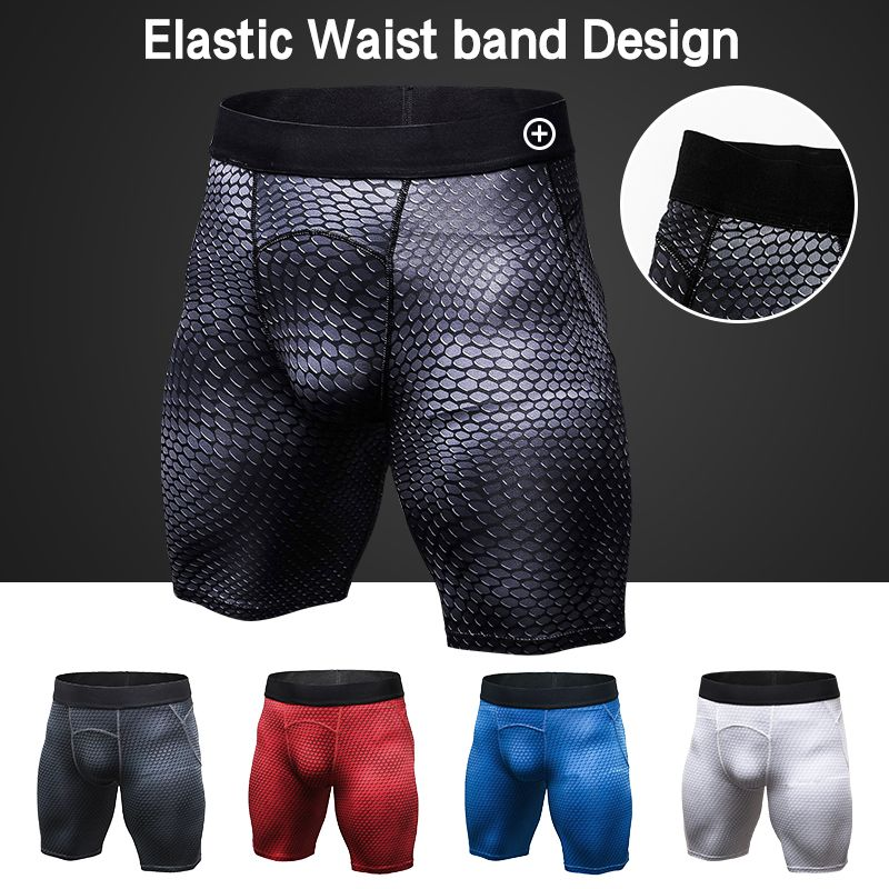 YD  Men For Short Sport Leggings Sports legging Compression Tights Skinny Gym Fitness Short Pants Training Sports Shorts Running