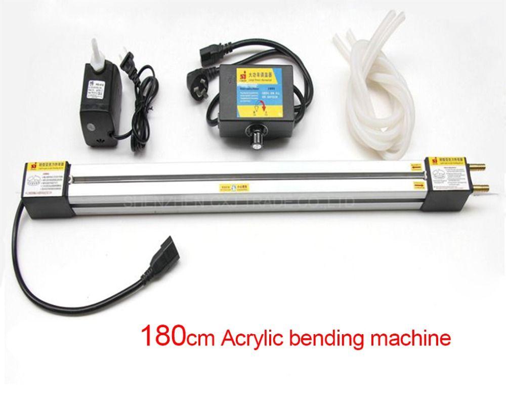 Freies Verschiffen 1 stücke 180 CM Acryl biegemaschine für organische kunststoffplatten, Acryl PVC Kunststoff Board-biegeversuch Gerät maschine