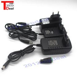 DC12V адаптер AC100-240V освещения Трансформеры из положить DC12V 1A/2A/3A Питание для Светодиодные ленты