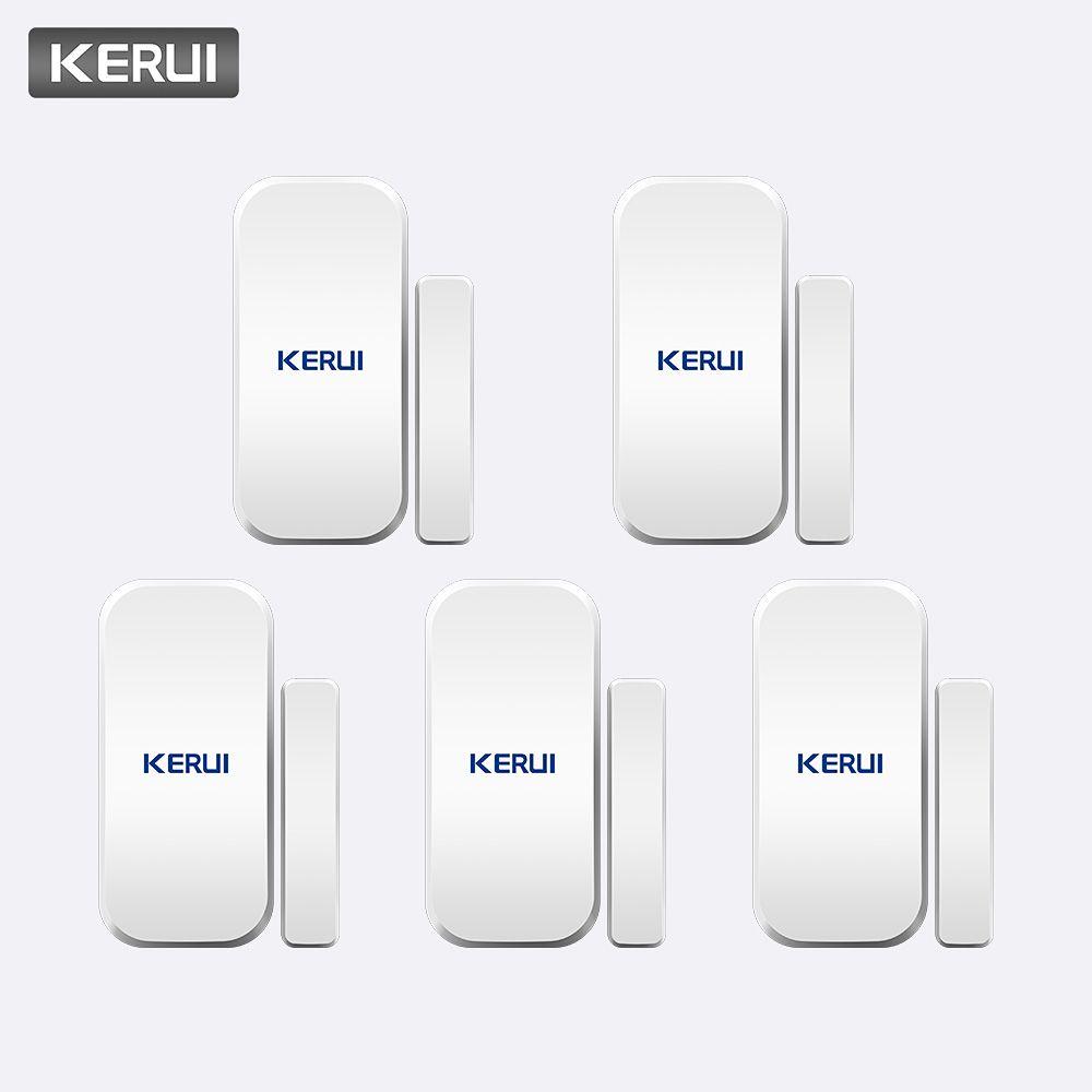 KERUI Intelligent sans fil porte Gap nouveau blanc 433 Mhz Contact sans fil porte fenêtre aimant entrée détecteur capteur fenêtre capteurs