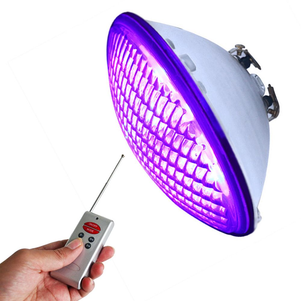 Heißer verkauf 18 watt RGB PAR56 Schwimmen Pool Lampe/Unterwasser Licht (DC 12 v), freies verschiffen