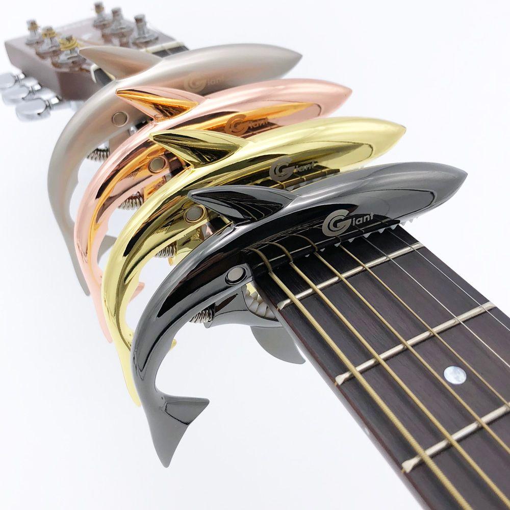 Tiburón Guitarras capo string capotraste violao para eléctrica acústica Guitarras ra bajo 6 cuerdas