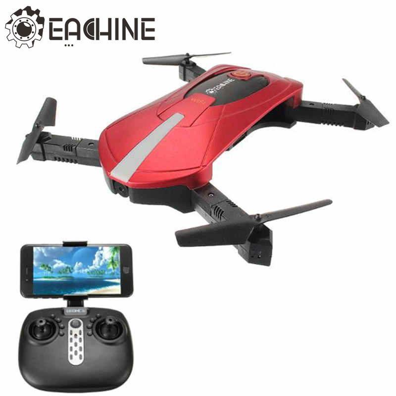 Haute Qualité Eachine E52 RC Selfie Drone Avec Pliable Bras 4CH 2.4G 0.3MP Caméra WiFi FPV RC Quadcopter BNF RTF VS JJRC H37