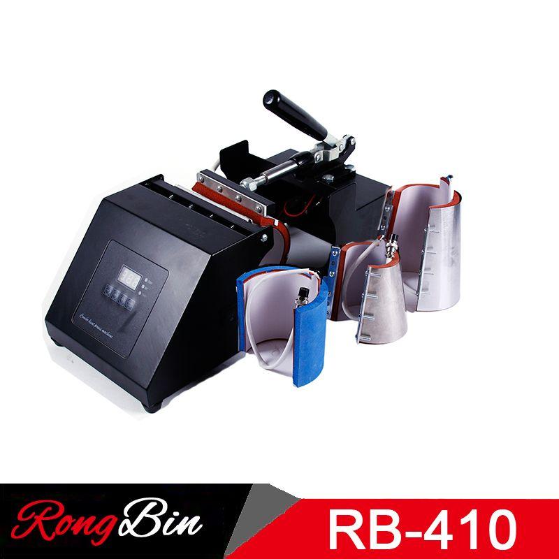 4 in 1 Becher Hitze Presse Maschine Sublimation Wärme Presse Wärme Transfer Maschine Für Becher Tasse 6/11/ 12/17 unze Becher Presse Maschine