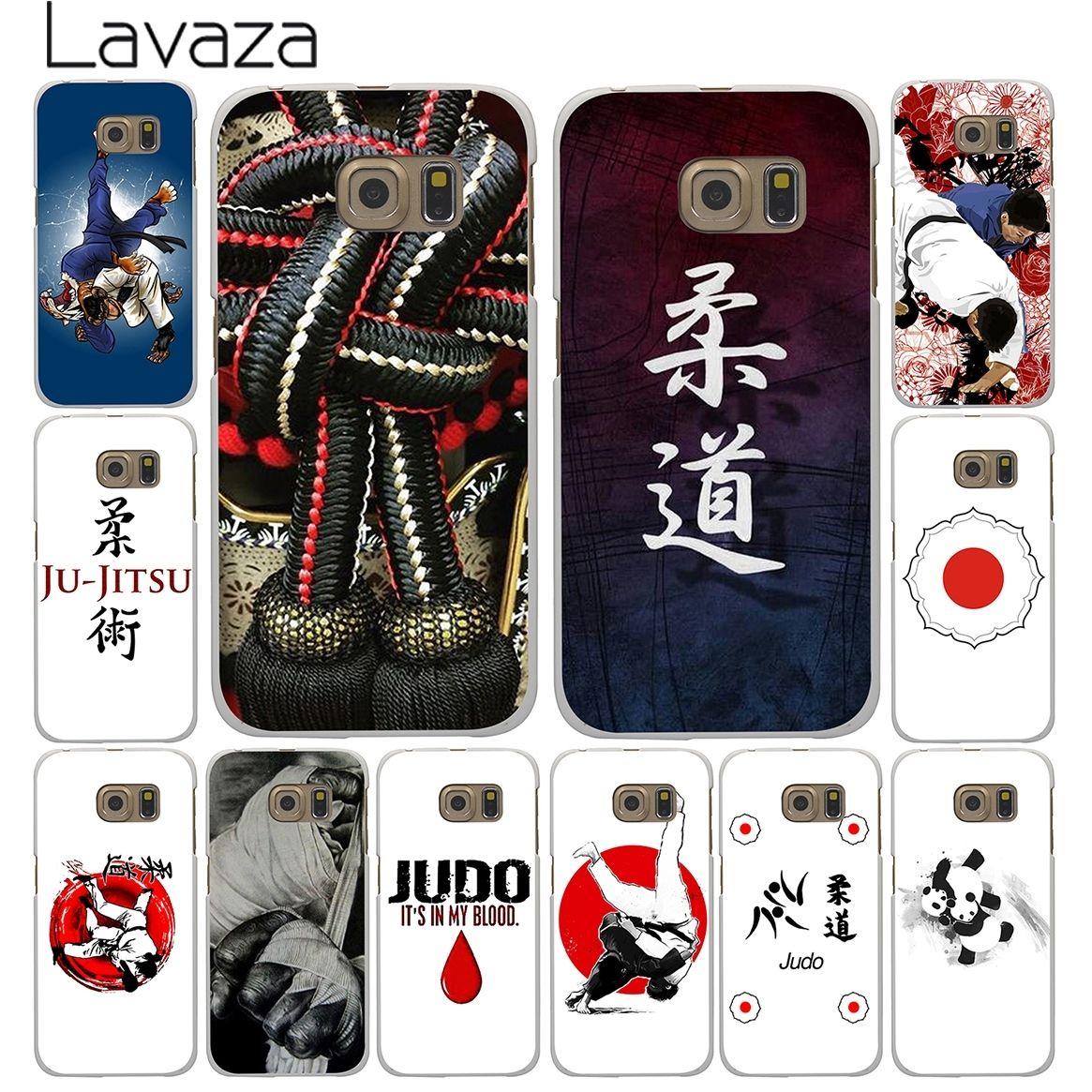 Lavaza Janpan Judo White Case for Samsung Galaxy A3 A5 A7 A8 J3 J5 J7 2015 2016 2017 & Grand Prime 2 Note 4 3 Cover