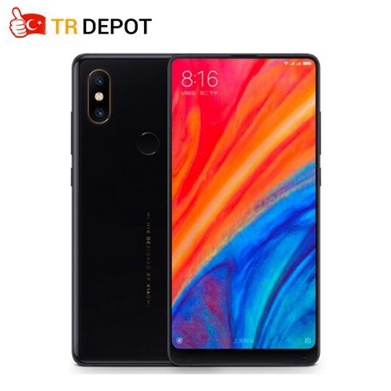2018 new Xiaomi Mi Mix 2S Snapdragon 845 6GB 64GB 5.99'' Full Screen Smartphone 4G NFC Dual PD Camere 7.5W Qi Wireless Charging