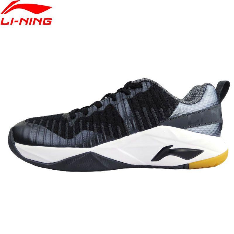 Li-Ning Männer HERRLICHKEIT Täglichen STRICKEN Badminton Training Schuhe TUFF OS Durable Sneakers Futter Wearable Sport Schuhe AYTM075 XYY077