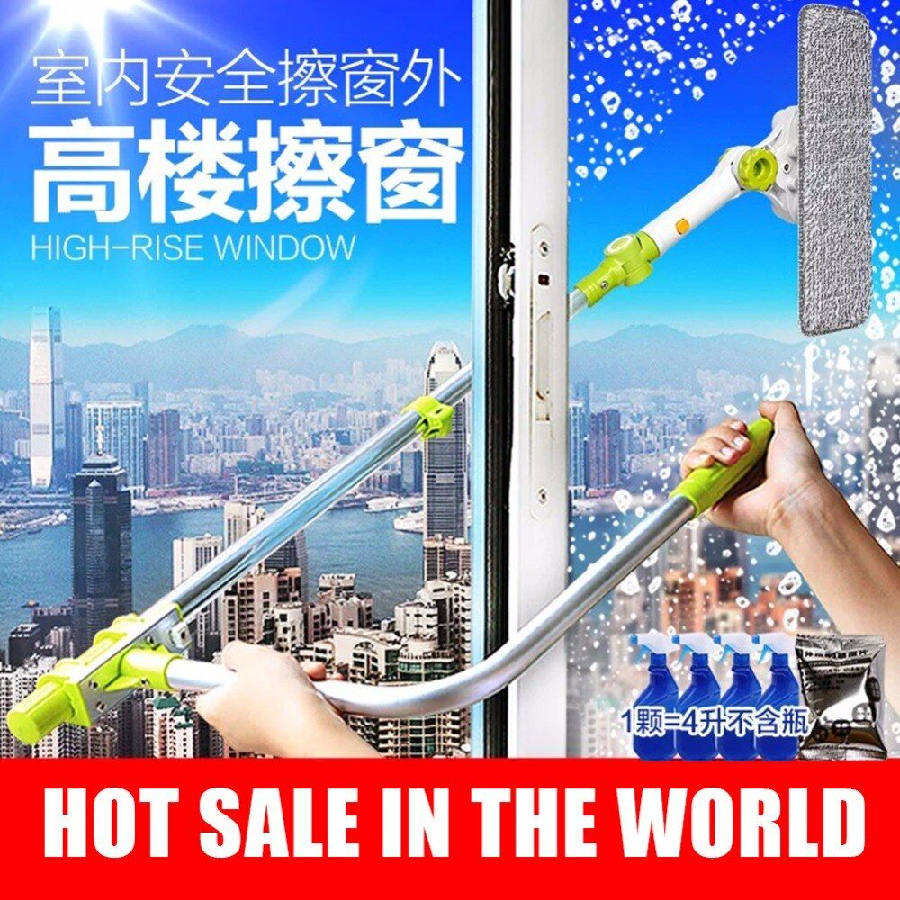 Brush for windows telescopic Sponge rag mop cleaner window home cleaning tools hobot brush for washing windows dust cleaning