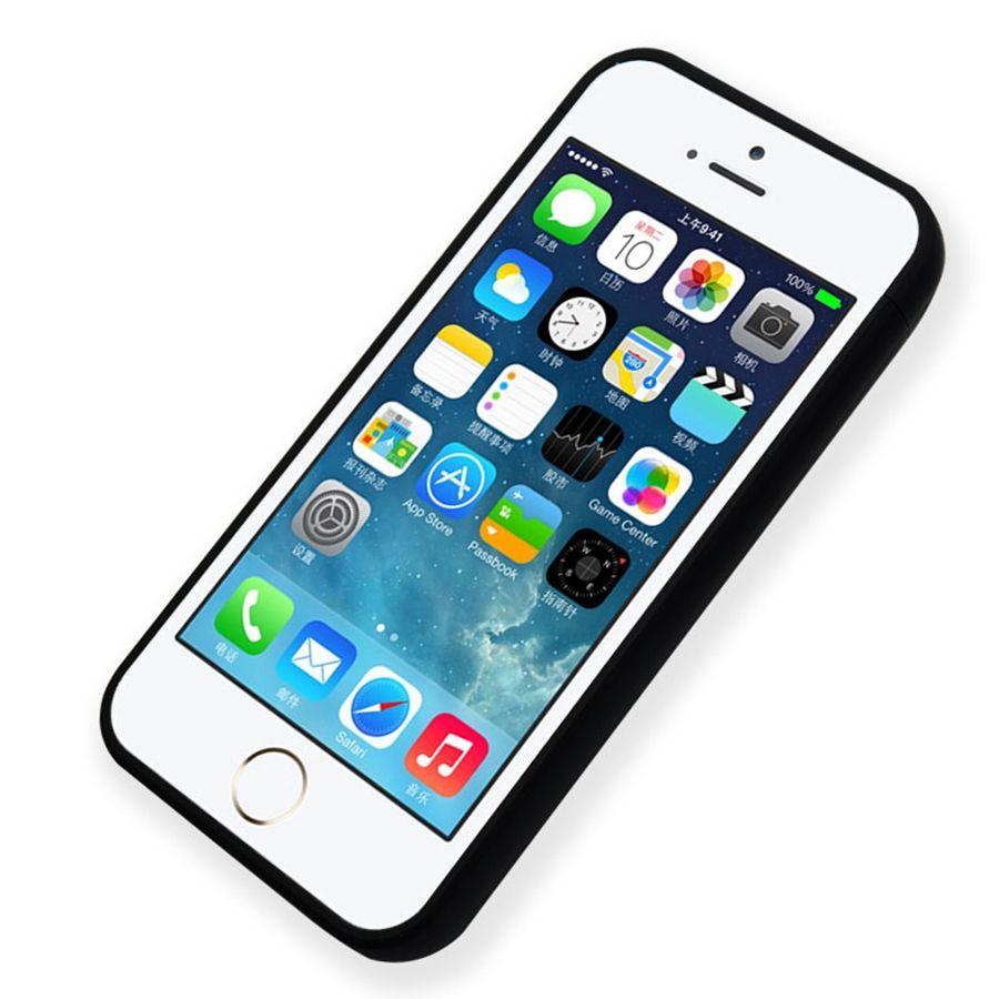 Ultradünne Ladegerät Bewegliche Energienbank Abdeckung Fall Für iPhone 5 s 5 se kunststoff lade Externe Backup coque Capa 4000 mAh