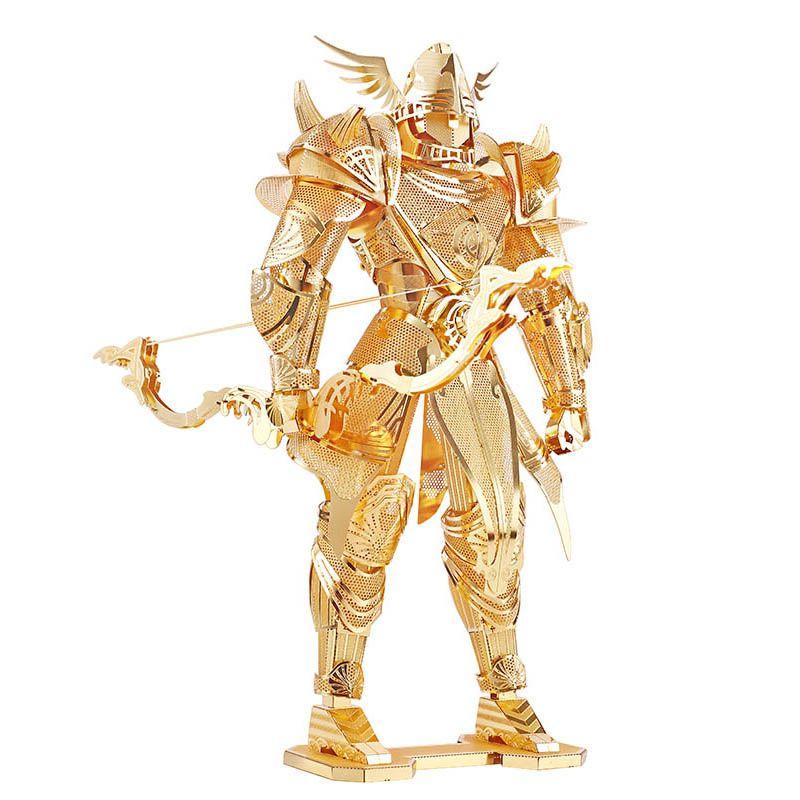 Morceau chevalier de Firmament chevalier 3d Puzzle en métal bricolage assembler des Kits de construction de modèles découpés au Laser jouets de Puzzle P072-G