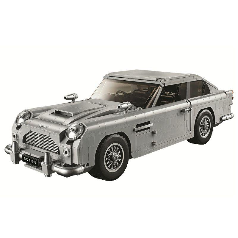 Creator James Bond Aston Martin DB5 Building Blocks Kit Bricks Set Classic City Model Toys For Children Gift Compatible Legoe
