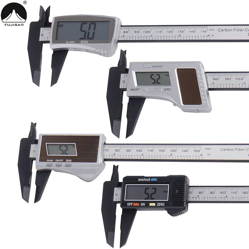 Numérique Étrier 0-150mm/0.1mm LCD Affichage mm/pouces Vernier Étrier Jauge Outils De Mesure