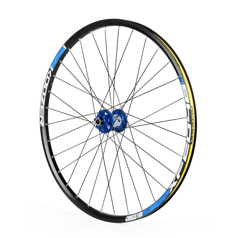 Ultraleicht koozer hub bike rad set 26 zoll mountainbike räder fahrrad front 2 hinten 4 lager hub (vorderrad + hinterrad)
