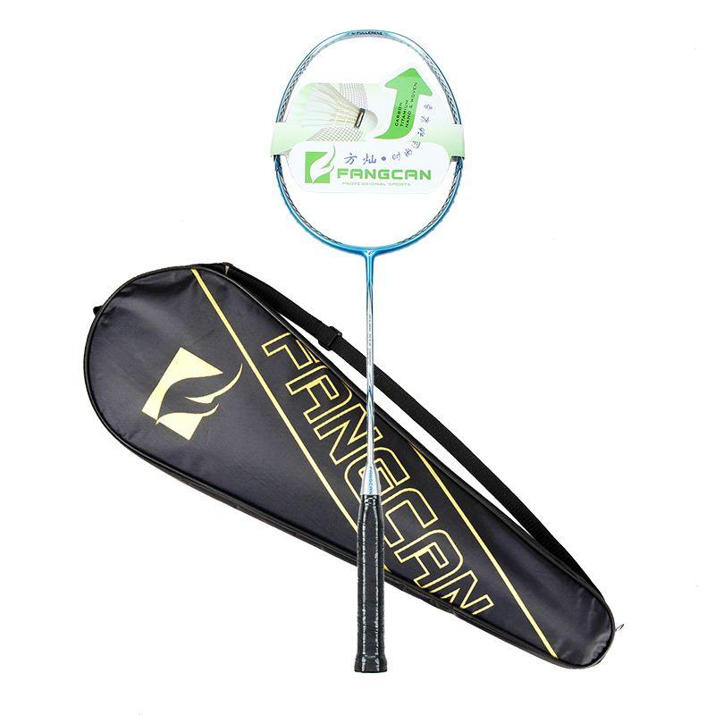 FANGCAN NANO RAY 9900 Volle Carbon 3U Kopf Licht Hohe Spannung Badminton Schläger Mit Abdeckung