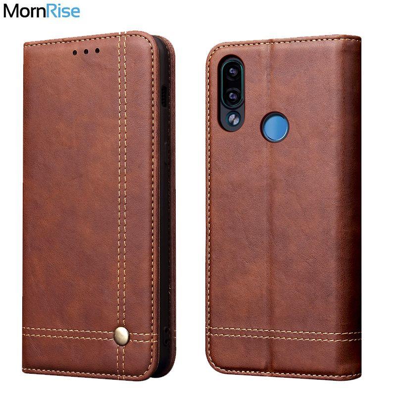 Étui de luxe rétro en cuir mince pour XiaoMI RedMi Note 7 étui portefeuille porte-cartes magnétique couverture de livre pour Xiomi RedMi 7 étui