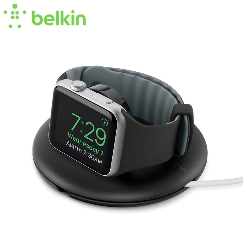 Belkin Original Travel Stand for Apple Watch Portable Stand for Apple Watch Series 3/Series 2 Desktop Holder with Retail Package