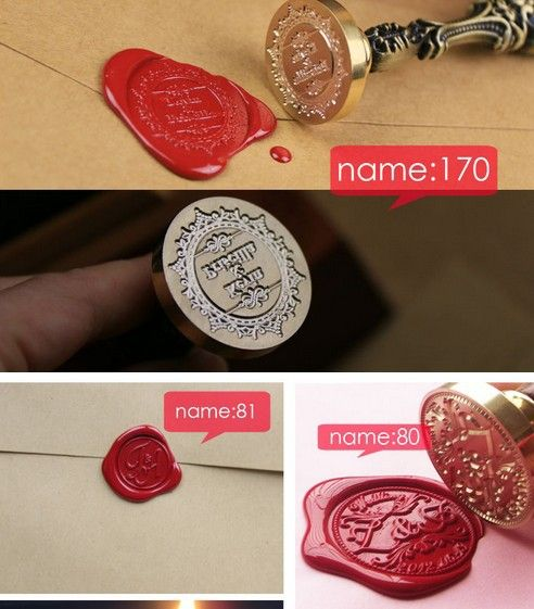 Hot Sell Customize Stamp Wedding Logo League DIY wedding prop Seal Stamp Personalized Stamp Wax Seal To Custom Design S027