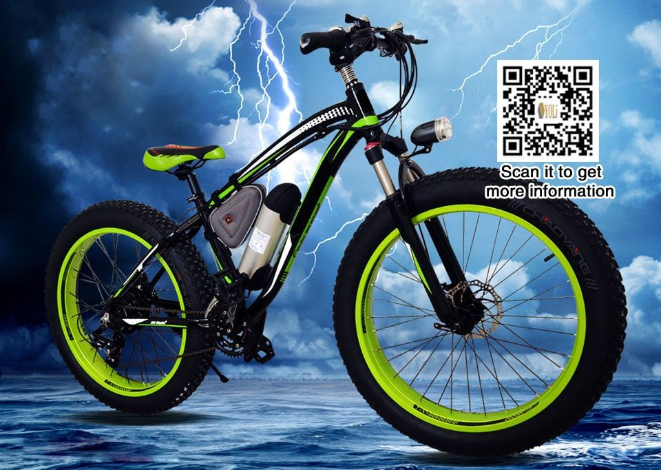 48V 1000W Electric Bicycle With 17Ah Lithium Battery 21 Speed fat tire mountain bike slow shipping 60 days