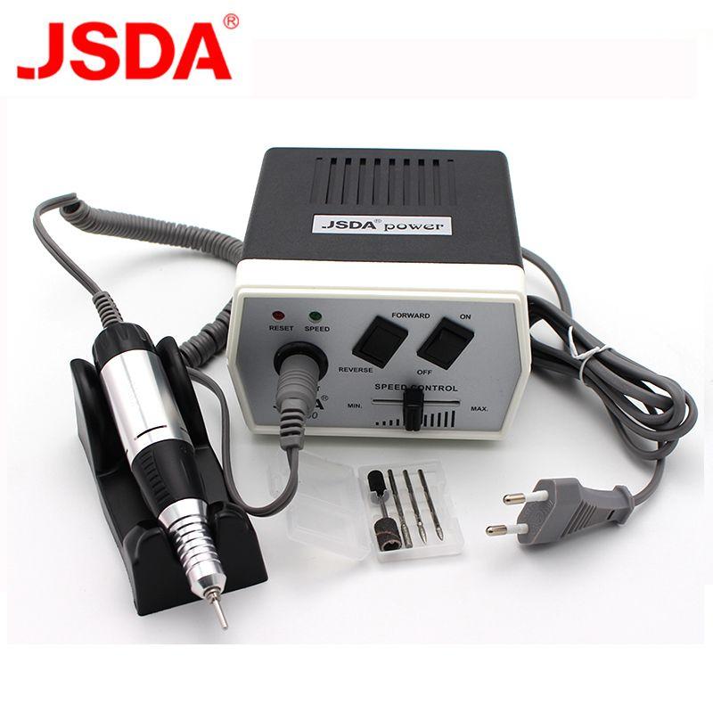 35 W JD400 Pro électrique Nail Art perceuse Machine à ongles équipement manucure pédicure fichiers électrique manucure perceuse et accessoire