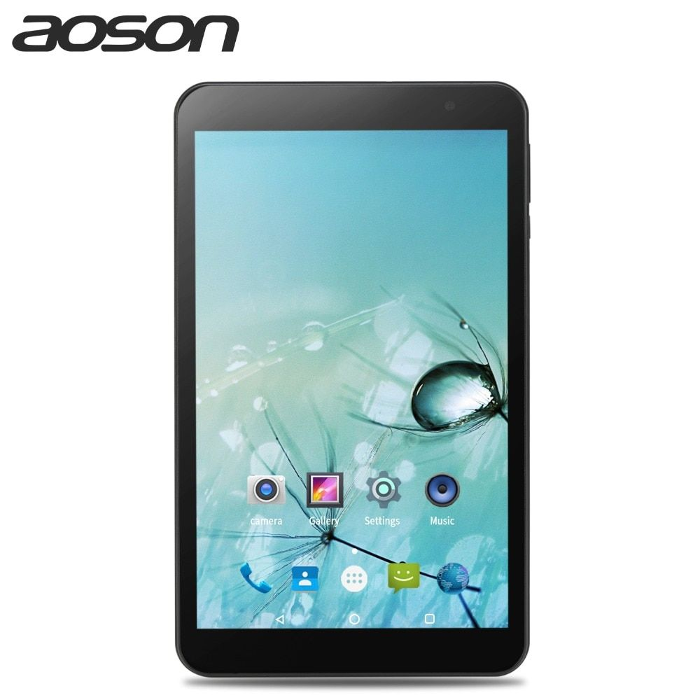 AOSON M815 8 inch tabletten Android 7.0 tablet PC Quad Core Dual WIFI 5G/2,4G IPS 1280x800 2 GB + 32 GB GPS Wifi Tablet PC